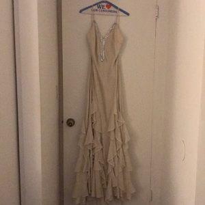 Haute hippie maxi dress size 10